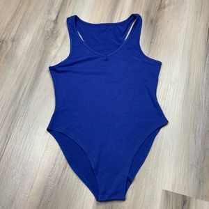 Other - Royal Blue Bodysuit Onepiece